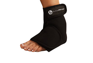 ActiveWrap Foot Ice/Heat Wrap w/4 Small Ice Packs