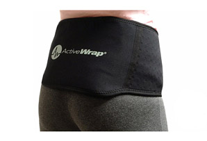 ActiveWrap Back Ice/Heat Wrap w/2 Large Ice Packs Package