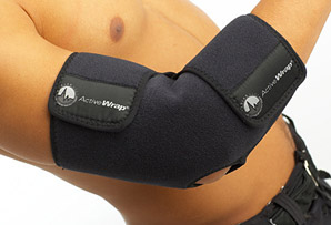 ActiveWrap Elbow Ice Wrap & 2 Heat/Ice Pack Package