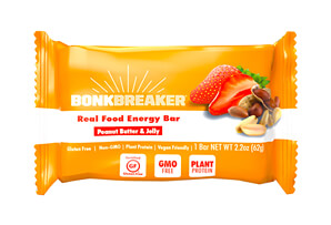 Peanut Butter & Jelly Plant Based Premium Performance Bar - Box of 12