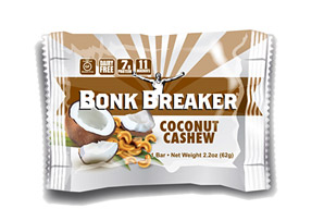 Bonk Breaker Coconut Cashew Energy Bar - Box of 12