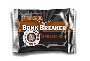 Bonk Breaker Espresso Chip Energy Bar - Box of 12