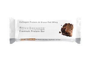 Double Fudge Brownie Premium Protein Bar - Box of 12