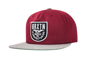 Brixton Alliance Snapback Hat