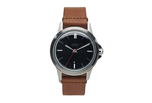 Electric Carroway Leather Watch