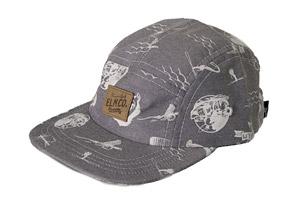 Elm Snake 6-Panel Denim Hat