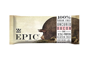 EPIC Bar Uncured Bacon Hickory Sea Salt Bars - Box of 12