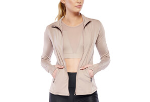 Lets Mesh Zip Up - Women's