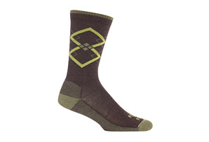 Farm to Feet Fall City Argyle Lightweight Crew Socks