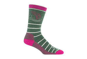Farm to Feet Concord Fish Mid-Weight Crew Socks - Women's