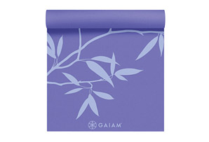 Gaiam Premium Ash Leaves 5mm Yoga Mat