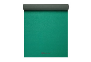 Gaiam Green Storm 3mm 2-Color Yoga Mat