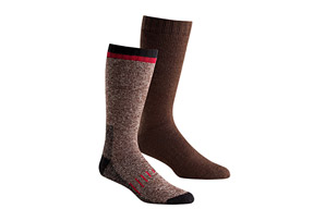 Hi-Tec Full Cushion Wool Boot Socks - 2 Pack