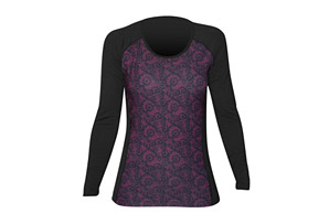 Hot Chillys MTF Sub Print Scoop Neck Long Sleeve Shirt - Women's