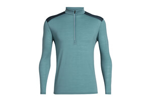 Cool-Lite Amplify Long Sleeve Half Zip - Men's