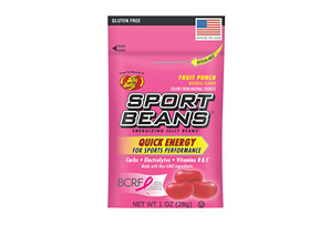 Sport Beans Fruit Punch Energizing Jelly Beans - Box of 24