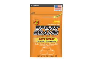 Sport Beans Orange Energizing Jelly Beans - Box of 24