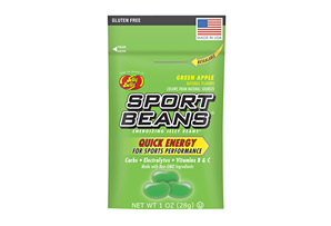 Sport Beans Green Apple Energizing Jelly Beans - Box of 24