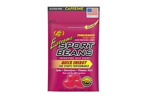 Sport Beans Extreme Pomegranate Jelly Beans - Box of 24
