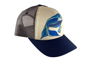 North Atlantic Right Whale Baseball Hat