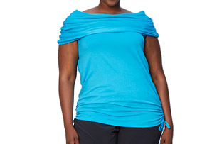 Katie K Active Signature Cowl Neck - Women's
