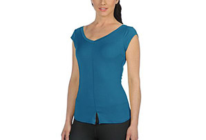 Life Fitness Basic Wide V-Neck - Womens