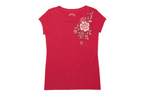 Life is Good Topnotch Open Neck Tee - Womens