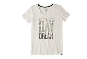 Life is Good Don't Quit Your Day Dream Scoop Tee - Women's