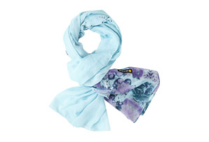Life is Good Soft Grafitti Floral Scarf - Women's