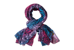 Life is Good Square Floral Resort Scarf - Women's