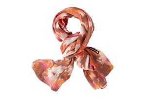 Life is Good Square Hazy Print Scarf - Women's