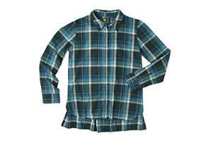 Life is Good Home Grown Plaid Shirt - Women's