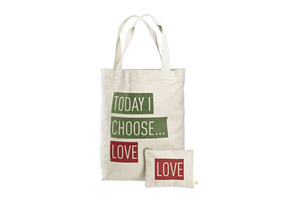 Life Is Good Today I Choose Love Tote and Pouch