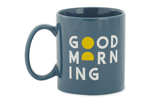 Life Is Good Good Morning Sunrise Mug