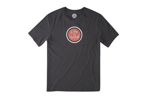 Life is Good LIG Coin Smooth Tee - Men's
