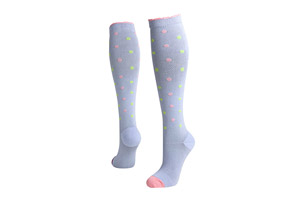 Lily Trotters Dots-a-Plenty Compression Socks