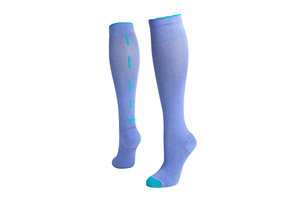 Lily Trotters Sassy Bow Compression Socks
