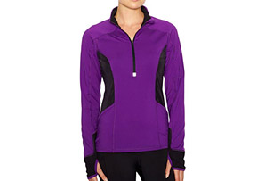 Lucy I Run This Half Zip - Womens