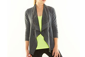 Lucy Studio Flow Wrap Jacket - Women's