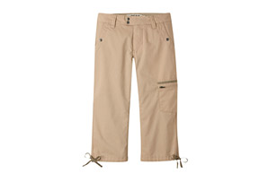 Mountain Khakis Stretch Poplin Capri Slim Fit 18.5