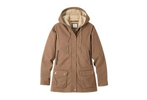 Mountain Khakis Ranch Shearling Hooded Coat - Women's
