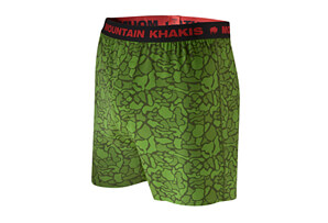 Bison Boxer Brief Print - Men's
