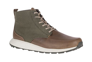 Ashford Mid Canvas Boots - Men's