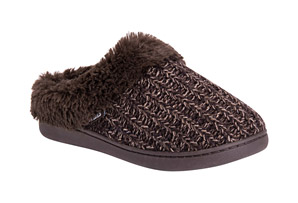 MUK LUKS Patterned Knit Clogs - Women's