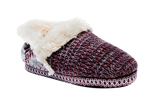 MUK LUKS Rouched Slippers - Women's