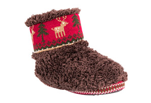 MUK LUKS Faux Fur Booties - Women's