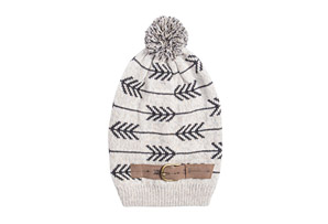 MUK LUKS Arrow Slouch Beanie - Women's