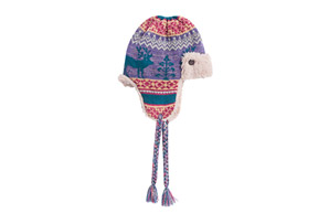 MUK LUKS Fairisle Trapper Hat - Women's