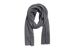 MUK LUKS Cable Basic Scarf