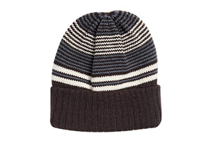 MUK LUKS Striped Cuff Cap